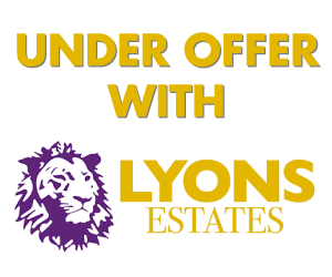 Under Offer With Lyons Estates